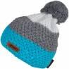 Caciula tricotata Eleven POM Blue/Green