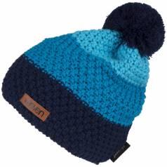 Caciula tricotata Eleven POM Blue