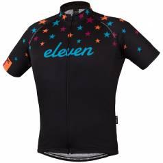 Bluza ciclism Star Lady Black cu maneci scurte