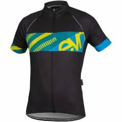 Bluza ciclism Eleven Stripes cu maneci scurte