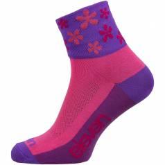 Sosete HOWA Flower Pink
