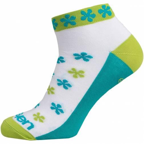 Sosete LUCA FLOWER Green