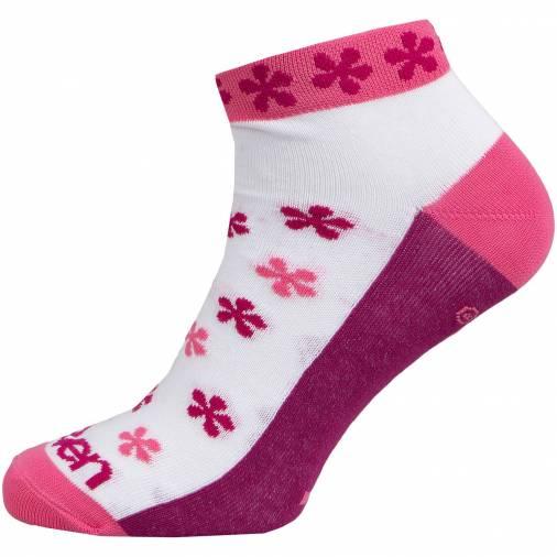 Sosete LUCA FLOWER Pink